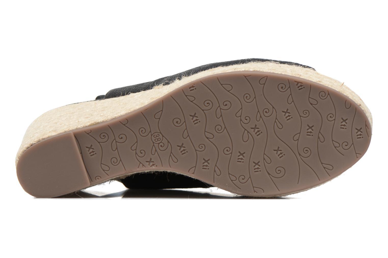 Sandales et nu-pieds Xti Mawa 46730 Noir vue haut