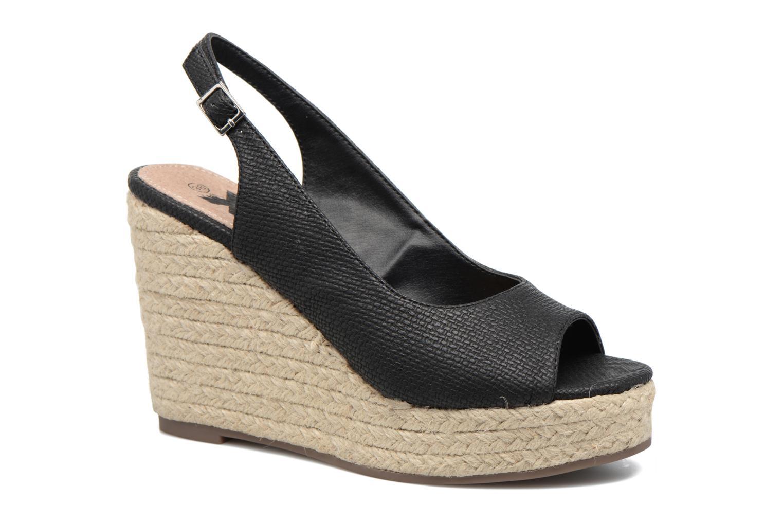 Sandales et nu-pieds Xti Mawa 46730 Noir vue détail/paire