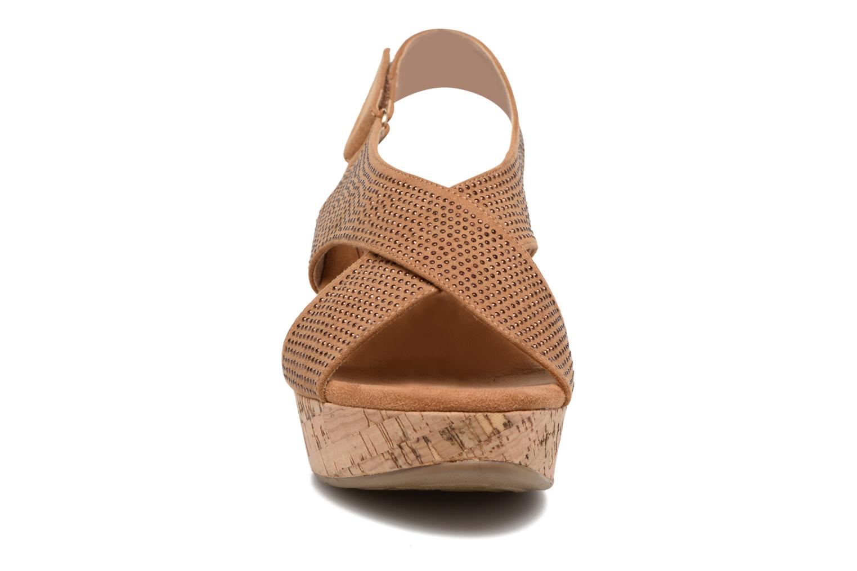 Sandales et nu-pieds Xti Zèm 46554 Marron vue portées chaussures