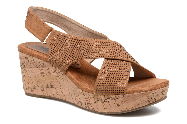 Sandales et nu-pieds Xti Zèm 46554 Marron vue détail/paire