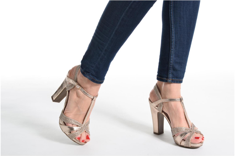 Sandales et nu-pieds Xti Martha 30610 Or et bronze vue bas / vue portée sac