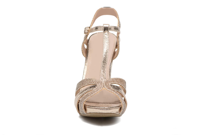 Sandales et nu-pieds Xti Martha 30610 Or et bronze vue portées chaussures