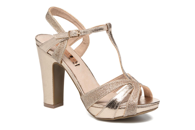Sandales et nu-pieds Xti Martha 30610 Or et bronze vue détail/paire