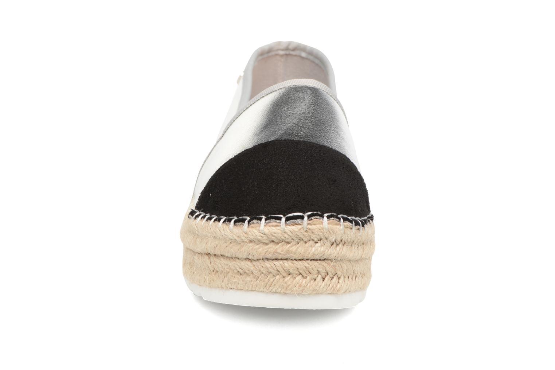 Espadrilles Xti Bwou 30554 Argent vue portées chaussures