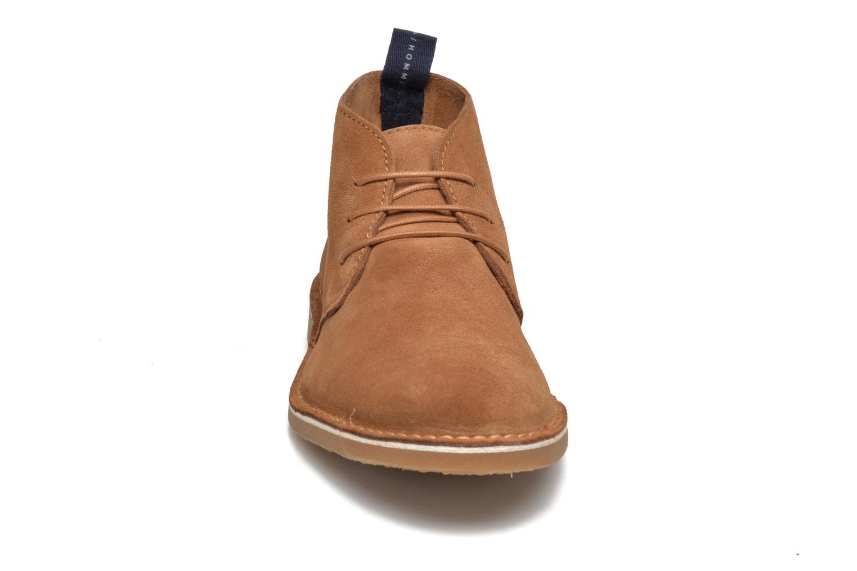 Bottines et boots Selected Homme Royce Light Boot 2 Marron vue portées chaussures