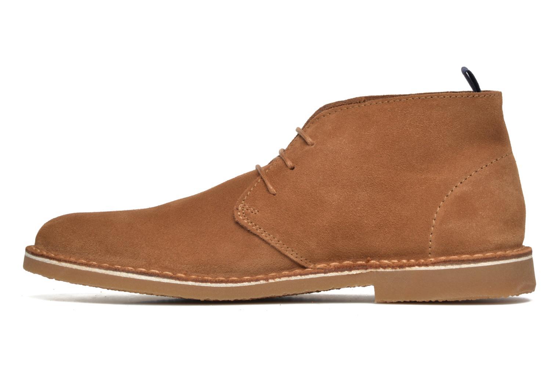 Bottines et boots Selected Homme Royce Light Boot 2 Marron vue face