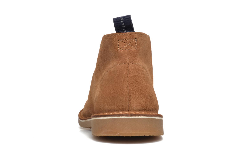 Bottines et boots Selected Homme Royce Light Boot 2 Marron vue droite