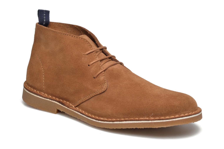 Bottines et boots Selected Homme Royce Light Boot 2 Marron vue détail/paire
