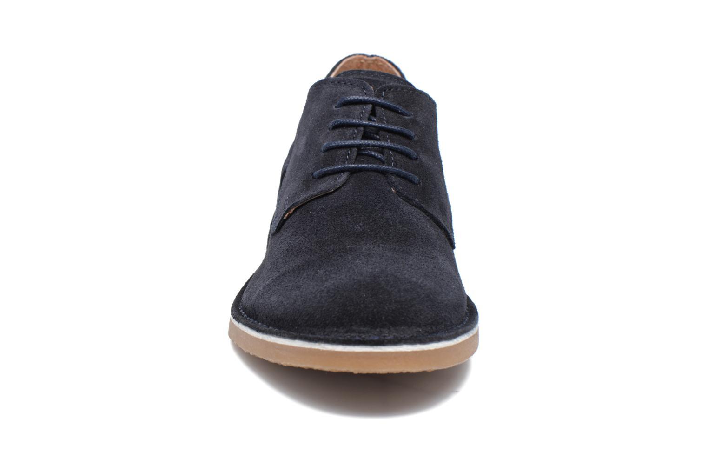 Chaussures à lacets Selected Homme Royce 2 Bleu vue portées chaussures