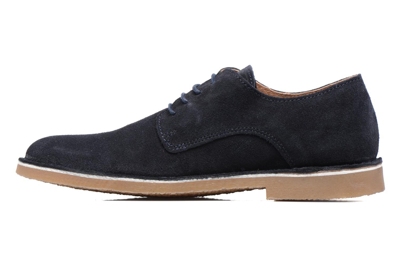 Chaussures à lacets Selected Homme Royce 2 Bleu vue face