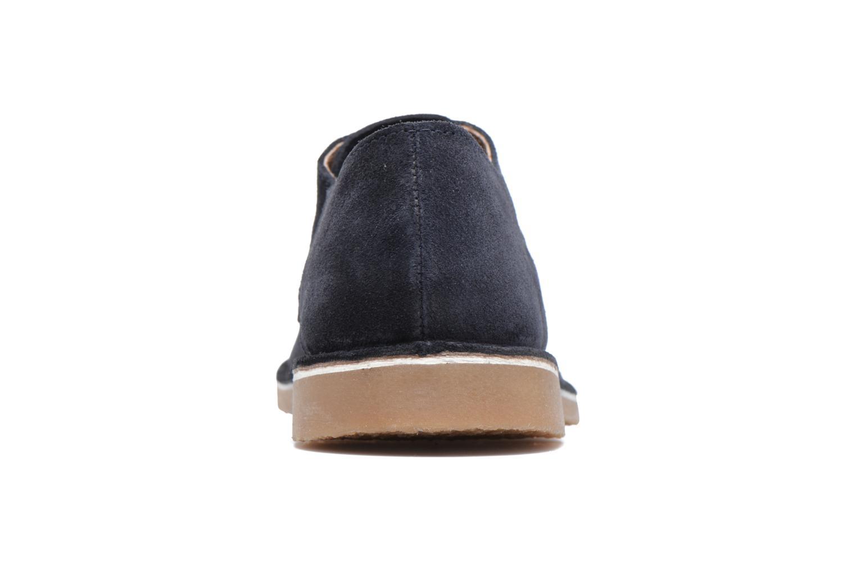 Chaussures à lacets Selected Homme Royce 2 Bleu vue droite