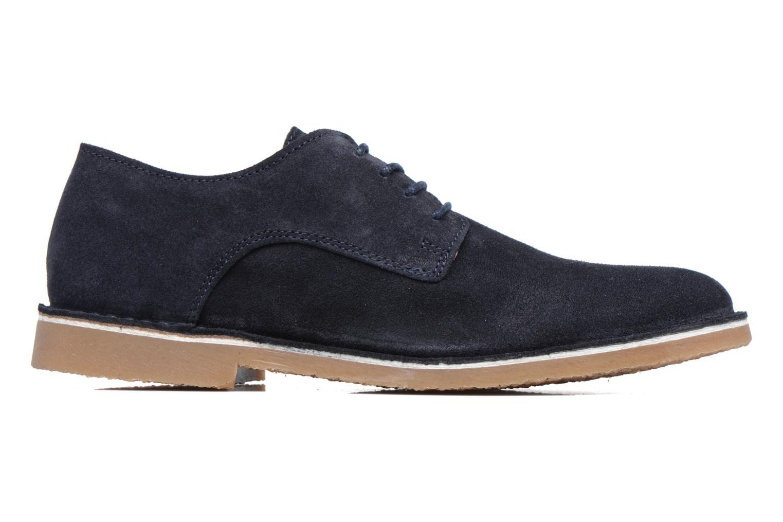 Chaussures à lacets Selected Homme Royce 2 Bleu vue derrière