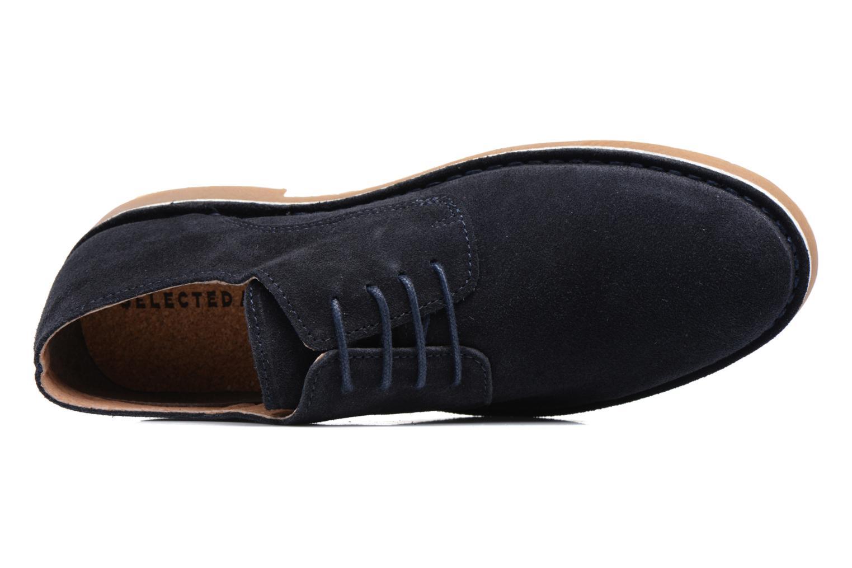 Chaussures à lacets Selected Homme Royce 2 Bleu vue gauche