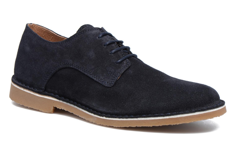 Chaussures à lacets Selected Homme Royce 2 Bleu vue détail/paire