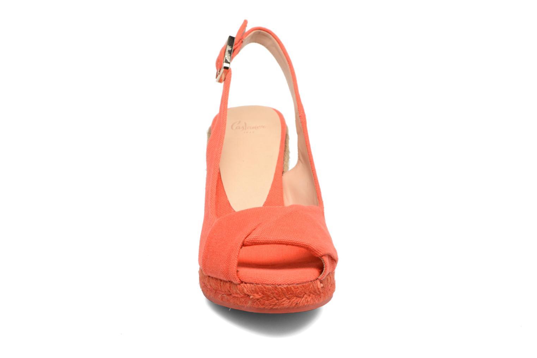 Espadrilles Castaner Briand H8 Rouge vue portées chaussures