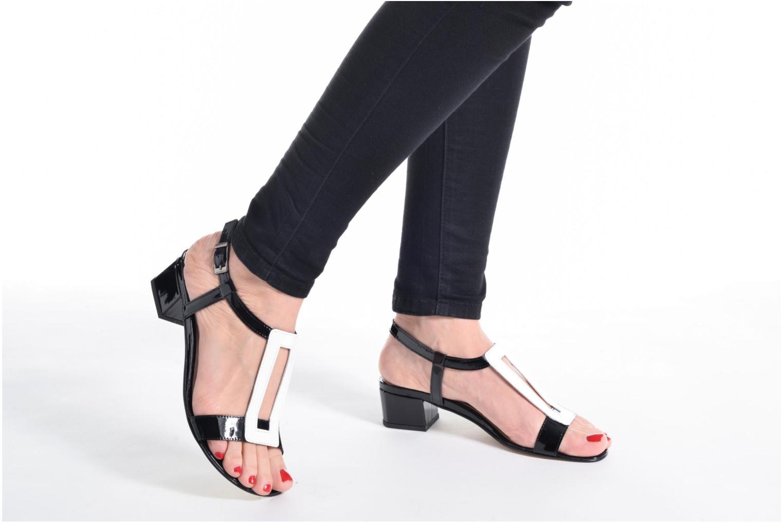 Sandali e scarpe aperte Perlato Miralina Nero immagine dal basso