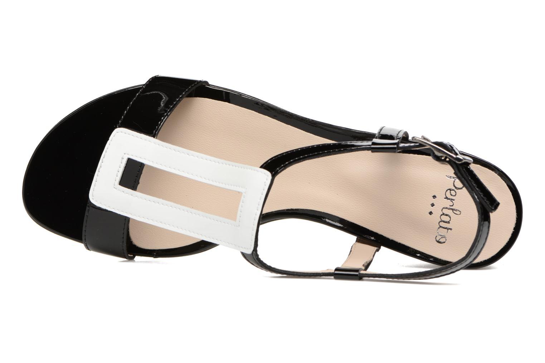Sandali e scarpe aperte Perlato Miralina Nero immagine sinistra