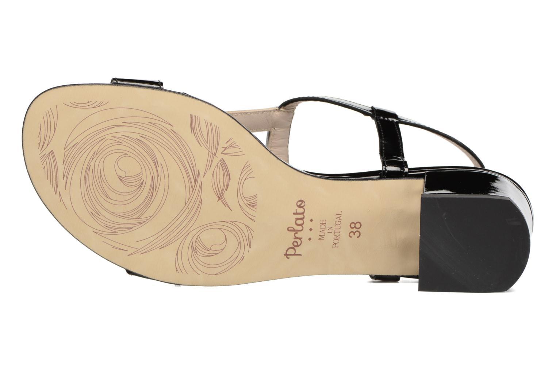 Sandali e scarpe aperte Perlato Miralina Nero immagine dall'alto