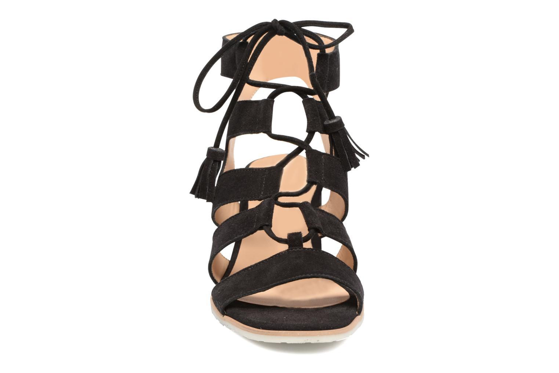 Sandales et nu-pieds Perlato Elba Noir vue portées chaussures
