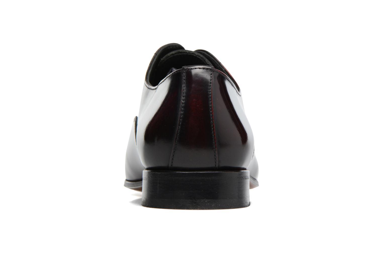 Snörade skor Marvin&Co Luxe Parado - Cousu Blake Vinröd Bild från höger sidan