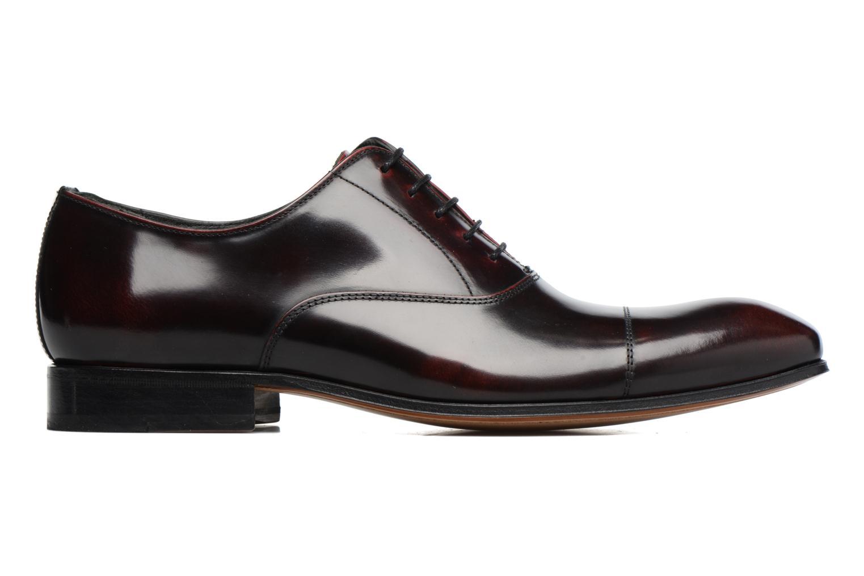 Snörade skor Marvin&Co Luxe Parado Vinröd bild från baksidan