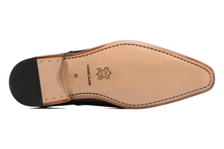Snörade skor Marvin&Co Luxe Parado Vinröd bild från ovan