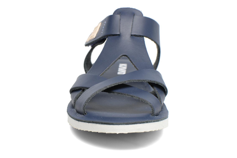 Sandales et nu-pieds Kavat Nynas XC Bleu vue portées chaussures