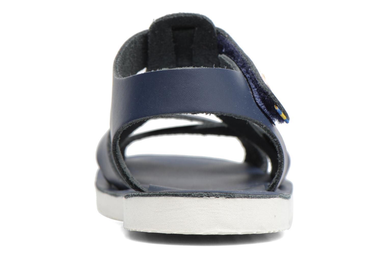 Sandales et nu-pieds Kavat Nynas XC Bleu vue droite