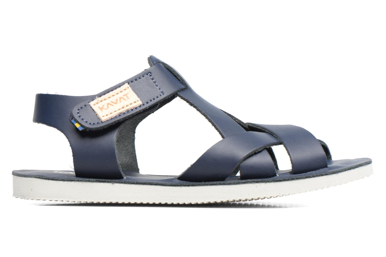 Sandalen Kavat Nynas XC blau ansicht von hinten