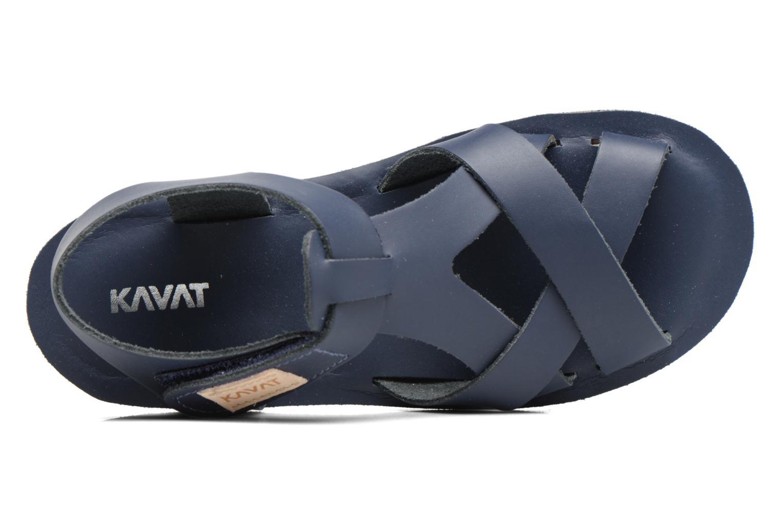 Sandalen Kavat Nynas XC blau ansicht von links