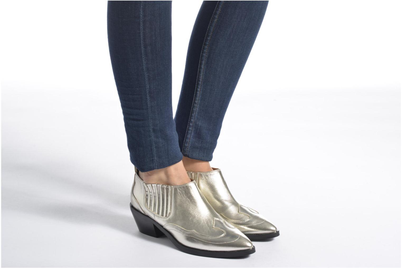 Bottines et boots Made by SARENZA Rock-a-hula #2 Noir vue bas / vue portée sac