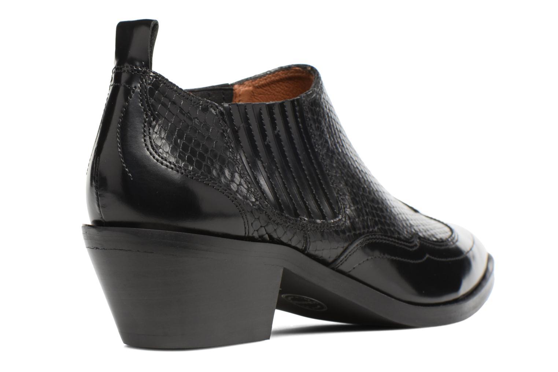 Bottines et boots Made by SARENZA Rock-a-hula #2 Noir vue face