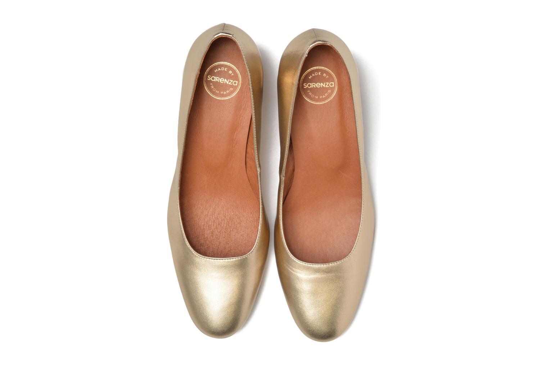 Høje hæle Made by SARENZA Rock-a-hula #11 Guld og bronze se skoene på