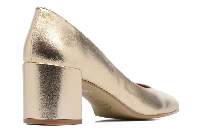 Høje hæle Made by SARENZA Rock-a-hula #11 Guld og bronze se forfra