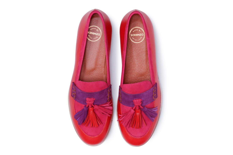 Mocassins Made by SARENZA Bombay Babes Mocassins #2 Rouge vue portées chaussures
