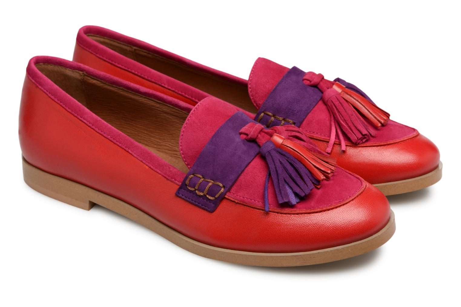 Mocassins Made by SARENZA Bombay Babes Mocassins #2 Rouge vue droite