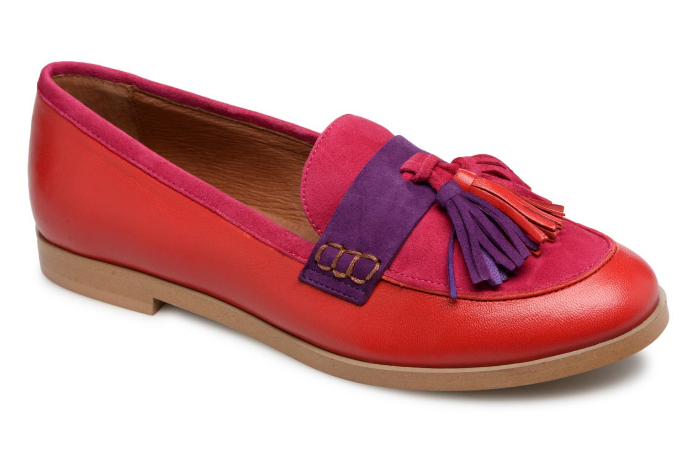 Loafers Made by SARENZA Bombay Babes Mocassins #2 Rød se bagfra