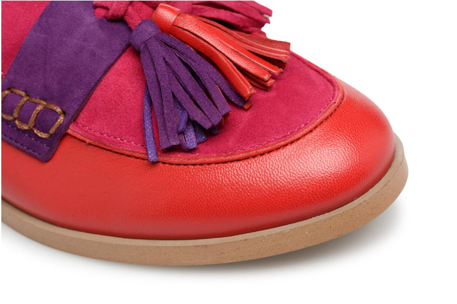 Mocassins Made by SARENZA Bombay Babes Mocassins #2 Rouge vue gauche