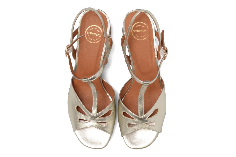 Sandalias Made by SARENZA Tennesse Sister #3 Oro y bronce vista del modelo