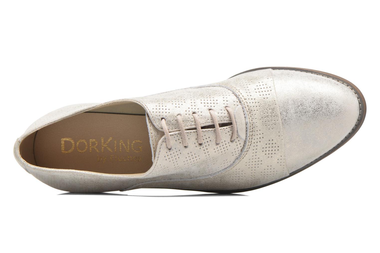 Chaussures à lacets Dorking Raquel 7090 Beige vue gauche