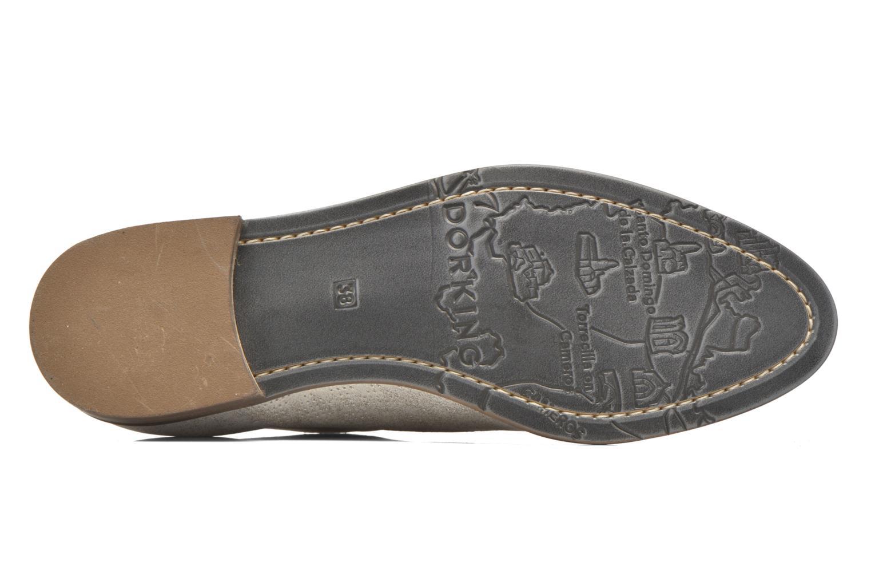 Chaussures à lacets Dorking Raquel 7090 Beige vue haut