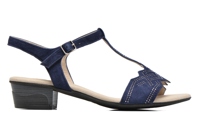 Sandales et nu-pieds Dorking Olivia 7173 Bleu vue derrière