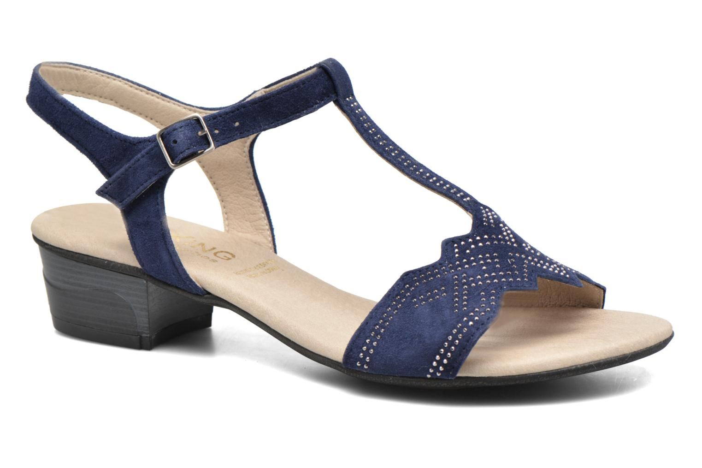 Sandales et nu-pieds Dorking Olivia 7173 Bleu vue détail/paire
