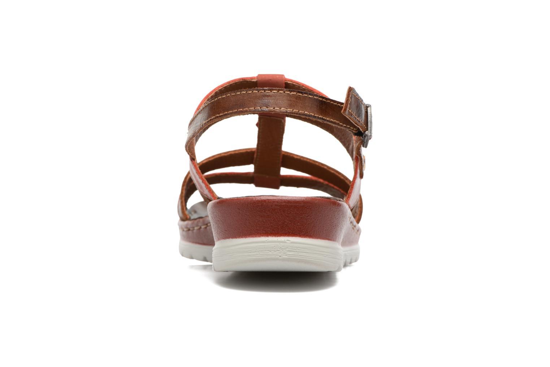 Azores 7181 Rojo/Cuero