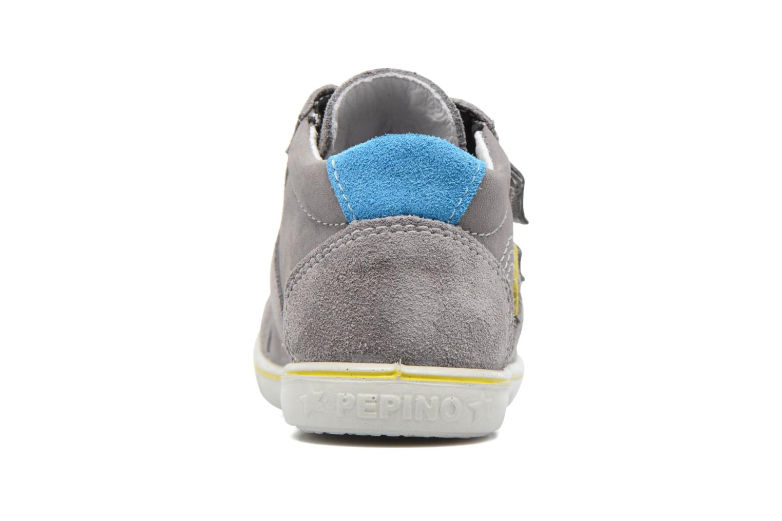 Trainers PEPINO Laif Grey view from the right