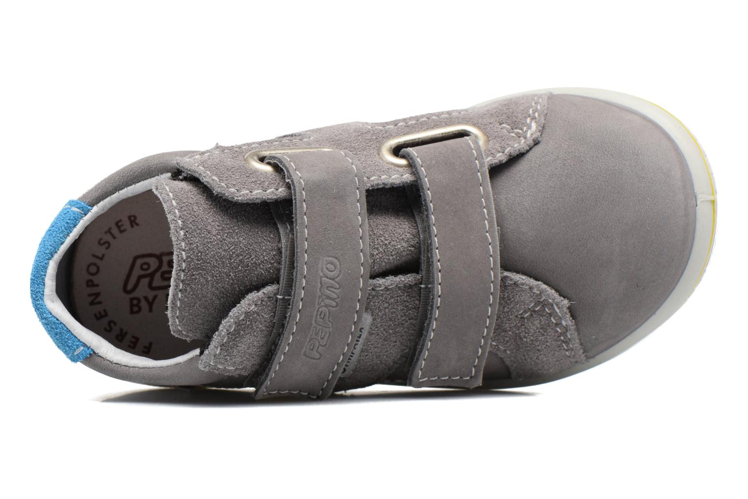 Trainers PEPINO Laif Grey view from the left