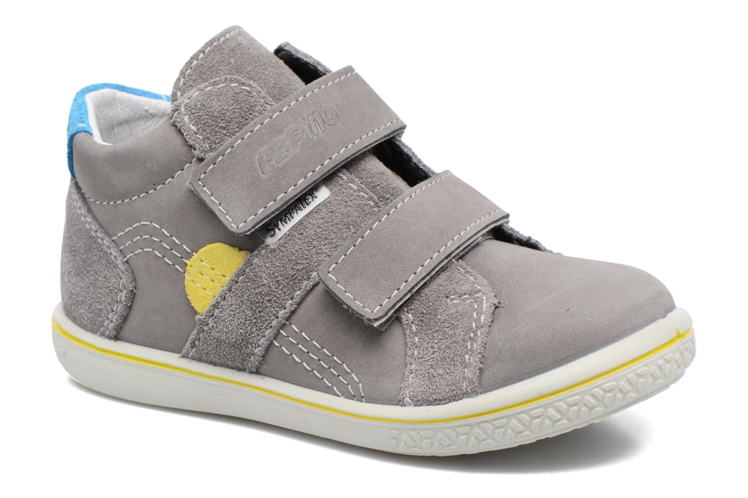 Trainers PEPINO Laif Grey detailed view/ Pair view