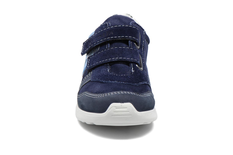 Baskets Ricosta Tabea Bleu vue portées chaussures