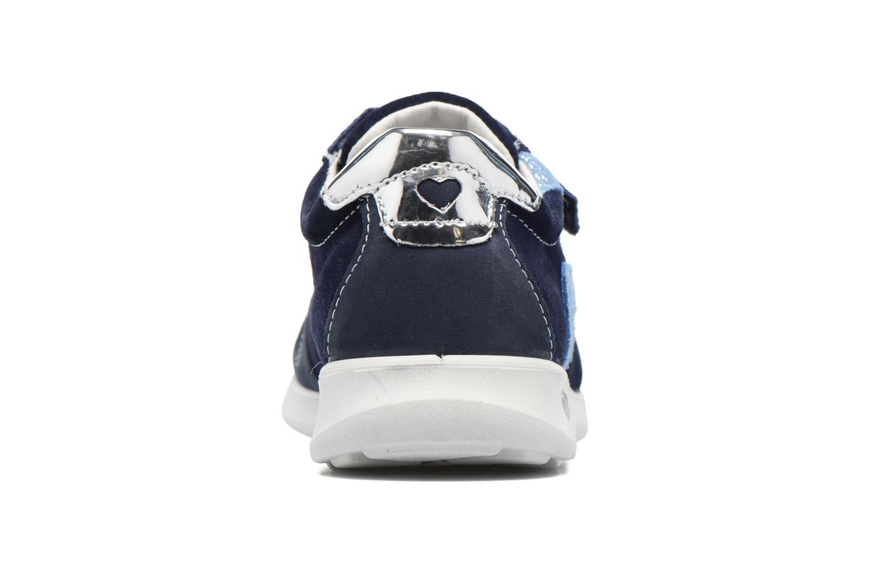 Sneaker Ricosta Tabea blau ansicht von rechts