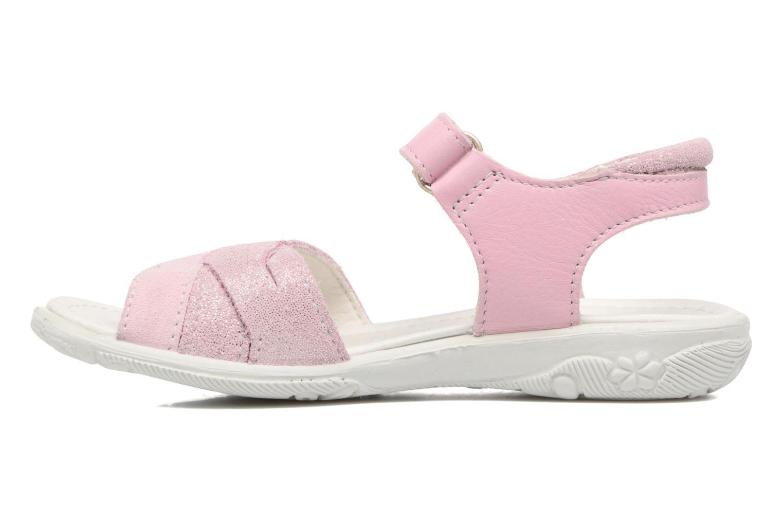 Sandales et nu-pieds Ricosta Bianca Rose vue face